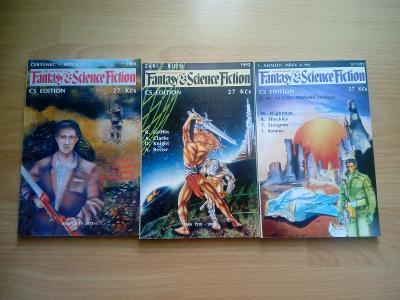 Fantasy & Science fiction ročník 92