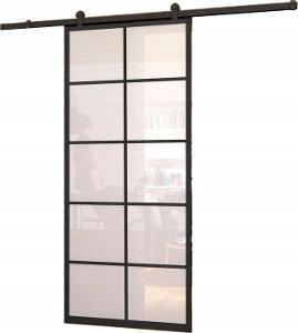 Celoskleněné posuvné dveře- série LOFT ART