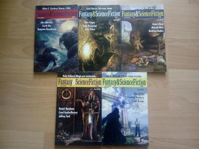 Fantasy & Science fiction ročník 2006