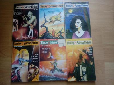 Fantasy & Science fiction ročník 93,94,95 mix