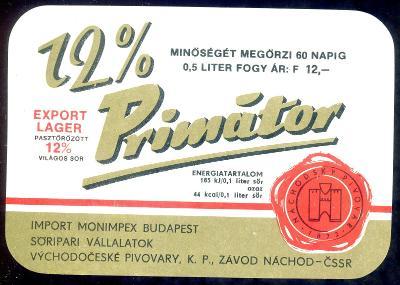 PE pivovar Náchod