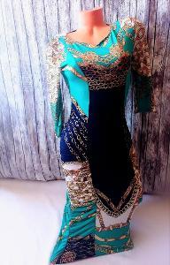 Vzorované šaty Chantall