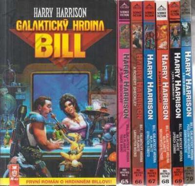 Bill, galaktický hrdina - 7 svazků Harry Harrison