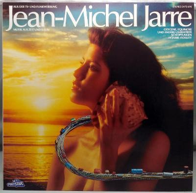 Jean-Michel Jarre – Musik Aus Zeit Und Raum 1984 Germany Vinyl LP