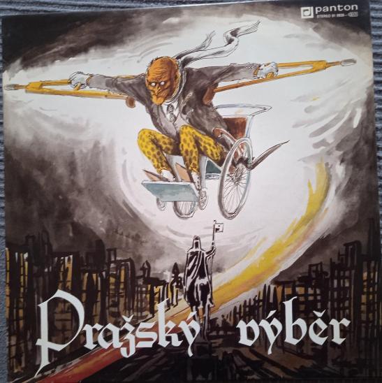 3x LP PRAŽSKÝ VÝBĚR - STRAKA V HRSTI / VÝBĚR 1988 - TOP STAV - Hudba