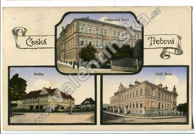 Česká Třebová, Ústí nad Orlicí.