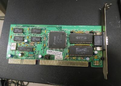 funkční grafická karta Trident 9000 - 512kB, ISA