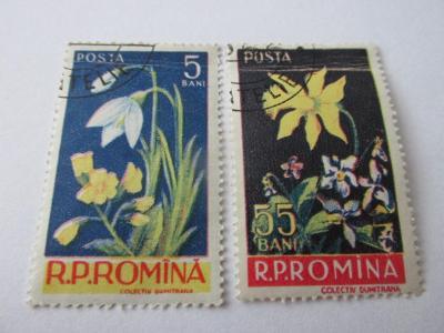 Prodávám známky Rumunsko 1956, Květiny