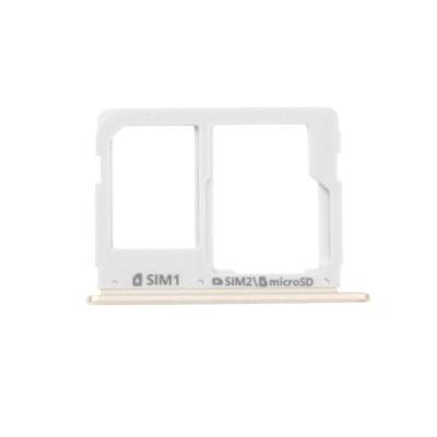 Držák SIM a SD karty Samsung A3 A5 A7 2016 White