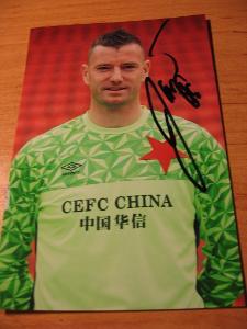 Jan Laštůvka - Slavia Praha - orig. autogram