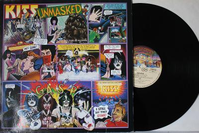 Kiss – Unmasked LP 1980 vinyl Germany 1.press super stav EX