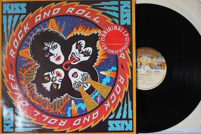 Kiss – Rock And Roll Over LP 1976 Germany RI 1980 super stav EX+