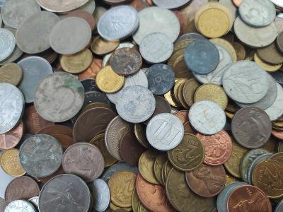 Staré mince - přes 500 ks