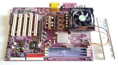 ----------- ZÁKLADNÍ DESKA/CPU/RAMM/CHLADIČ-------