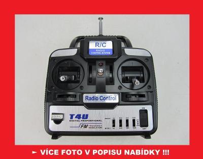 T4U FM - VYSÍLAČKA - RC model letadlo