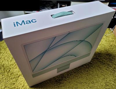 """iMac 24"""" M1 CZ Zelený"""