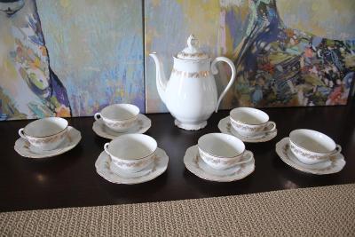 Starožitný čajový servis - značeno