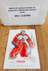Kompletní set karet - Sp authentic 09/10 (100 karet)
