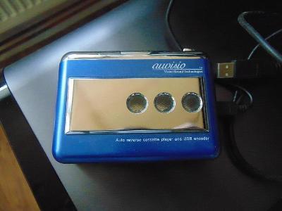 Kazetový magnetofon USB