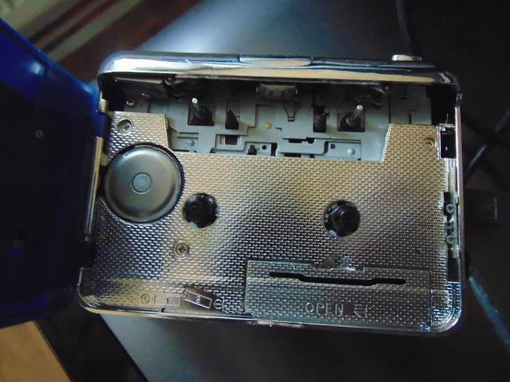Kazetový magnetofon USB - TV, audio, video