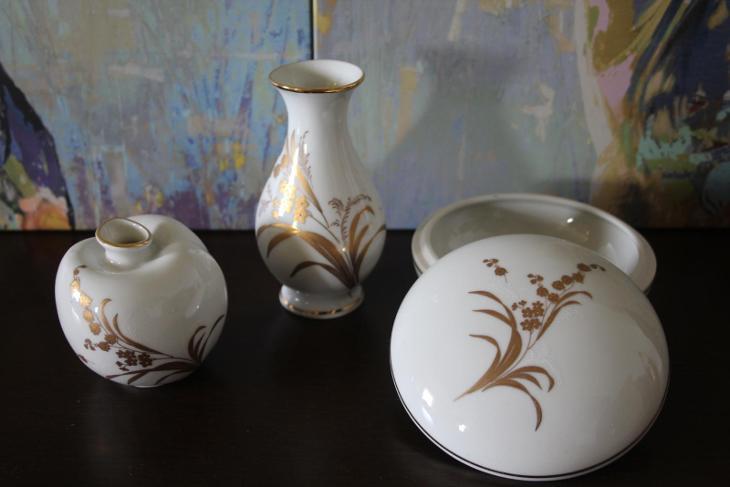 Porcelánový ručně malovaný set  - Porcelán
