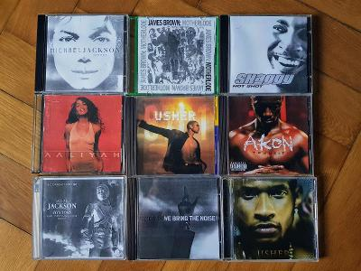 R&B, soul a disco na CD (Michael Jackson, Usher, Akon, Shaggy...)
