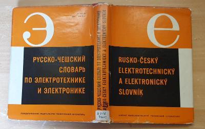 Rusko-český elektrotechnický a elektro. slovník