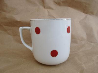 Porcelánový hrnek zn. korunkou Czechoslovakia