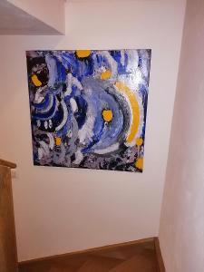 Obraz Abstrakce 100x100