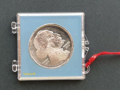 100 Kčs 1971 - JOSEF MÁNES - proof - pouze 4529 kusů!!
