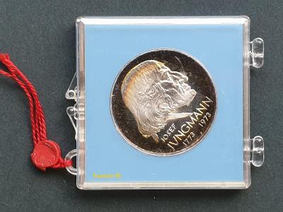 50 Kčs 1973 - JOSEF JUNGMANN - proof - pouze 4037 kusů!!