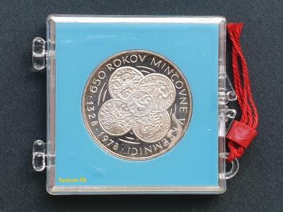 50 Kčs 1978 - MINCOVNA KREMNICA - proof - pouze 2708 kusů!!