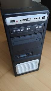 Počítač s Intel 2,7 GHz, 4GB RAM, nVidia GT430, HDD 200GB, Win7 64-bit