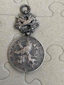 Rad Medaile bílého lva 1922-1938 ag Československo