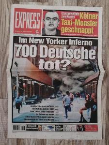 11. září 2001 - EXPRESS - 15. ZÁŘÍ 2001 Im New Yorker Inferno -700 tot