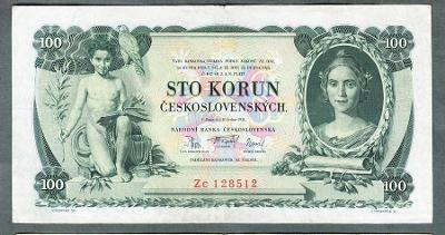 100 korun 1931 serie ZC !!! NEPERFOROVANA
