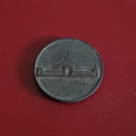 Velká medaile František Josef I. 1873 Vídeň 52mm,Rakousko-Uhersko - Numismatika