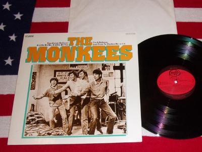 ⭐️ LP: THE MONKEES - THE MONKEES, jako nové MINT!, West Germany press