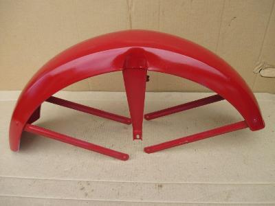 Motocykl Jawa čz kývačka panelka přední blatník na rám 250 350 velká