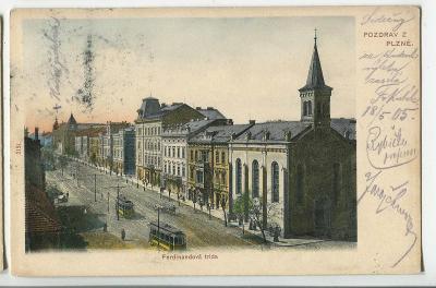 Plzeň, tramvaj