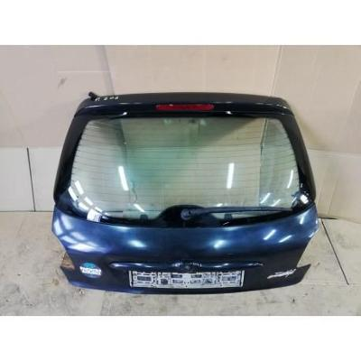 Peugeot 206 98- tylna klapa bagażnika czarna