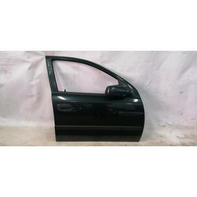 Opel Astra II G 98- drzwi przednie prawe zielone