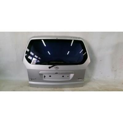 Opel Zafira A 99- tylna klapa bagażnika srebrna