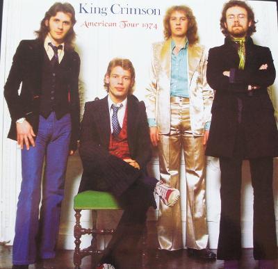 2 LP KING CRIMSON  American Tour 1974  Raritní !