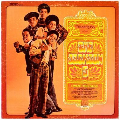 Gramofonová deska THE JACKSON 5 - Diana Ross presents The Jackson 5