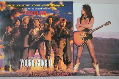 Jon Bon Jovi – Blaze Of Glory LP 1990 vinyl NL 1.press super stav NM
