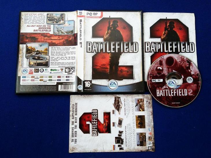 PC - BATTLEFIELD 2 (retro 2005) Top - Hry