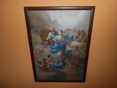 Obrazy z pozůstalostí-Zajímavé barokní dílo-Ignaz Joseph Raab !!!!!!!!