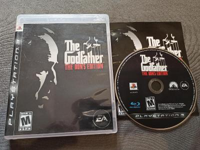 PS3 The Godfather  The Dons Edition