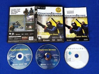 PC - COUNTER STRIKE CONDITION ZERO, HALF-LIFE 2 (retro rok 2004) Top